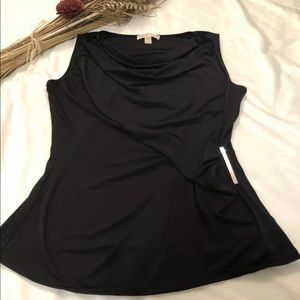 Michael Kors Woman Sleeveless Asymmetrical Blouse